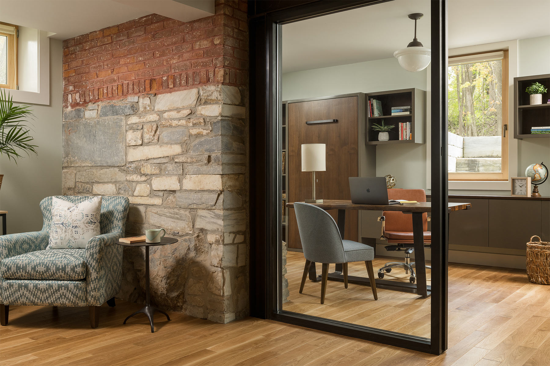 interior design stonework burdick